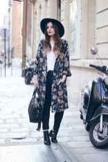 08 Sweet Kimono Chic Outfit Ideas
