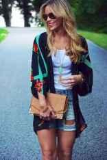 10 Sweet Kimono Chic Outfit Ideas