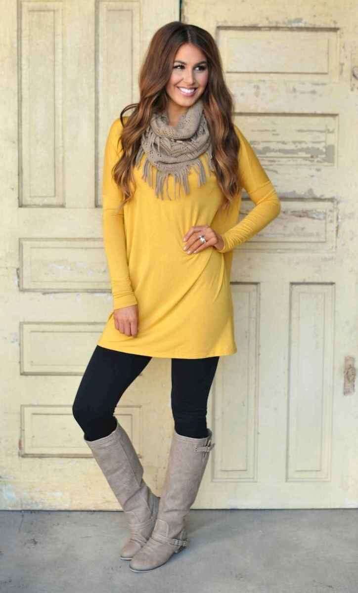 10 Tunic and Leggings to Look Cool