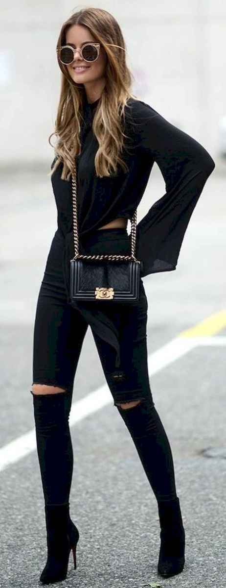 11 Chic All Black Outfit