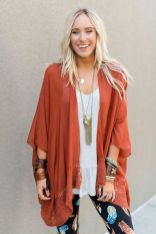 11 Sweet Kimono Chic Outfit Ideas