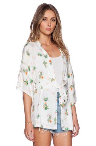 12 Sweet Kimono Chic Outfit Ideas