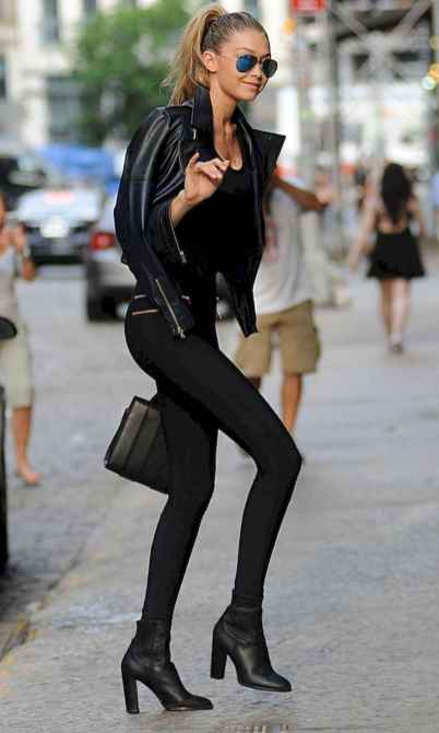 13 Chic All Black Outfit