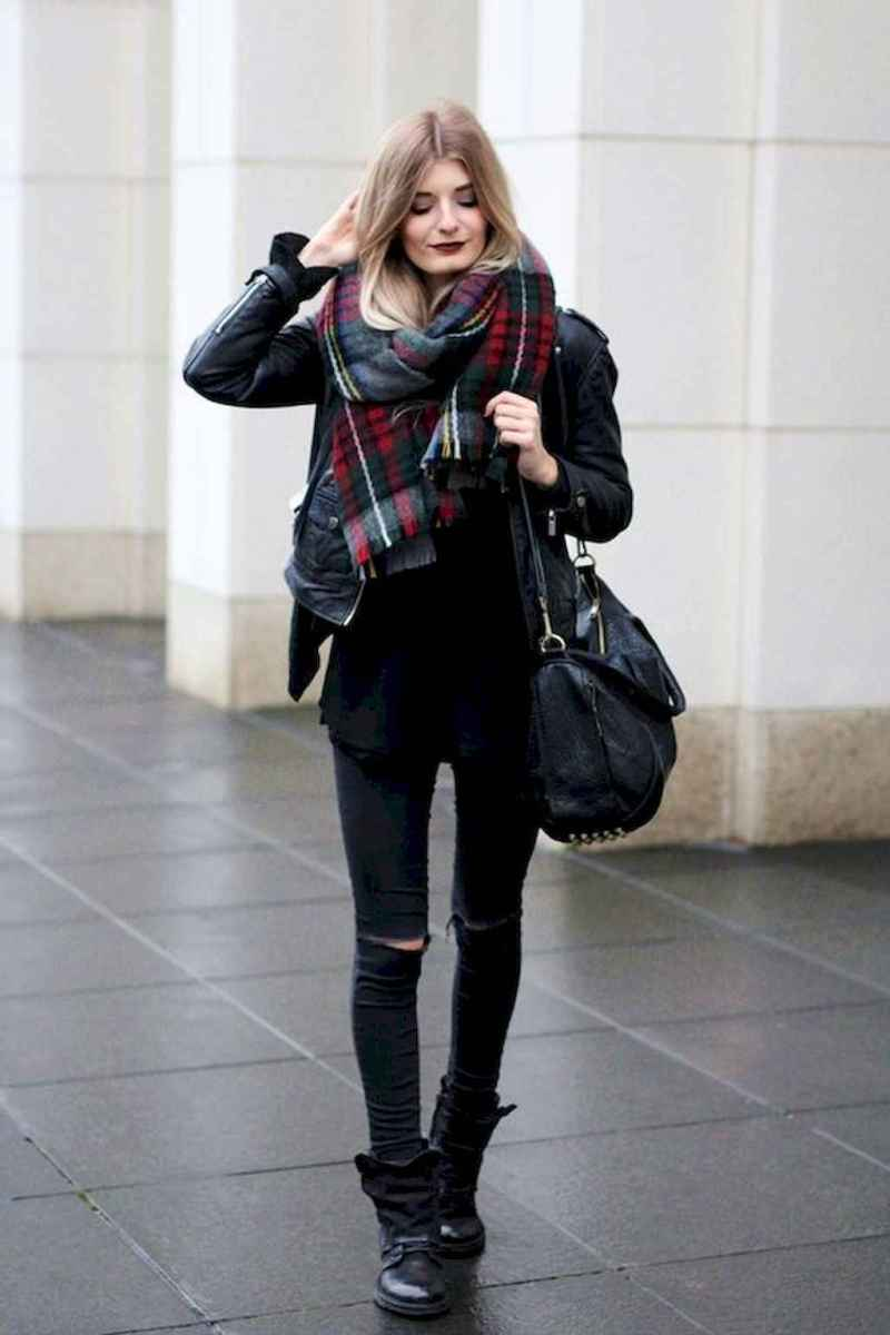 17 Chic All Black Outfit