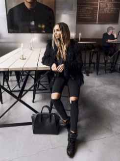 18 Chic All Black Outfit