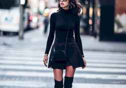 23 Chic All Black Outfit
