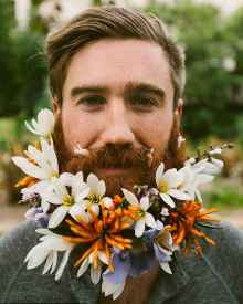 23 Most Elaborate Flower Beard Ideas