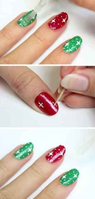 24 Easy Winter Nail Art Ideas