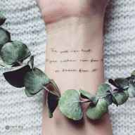 24 Minimalist Tattoos For Every Gir