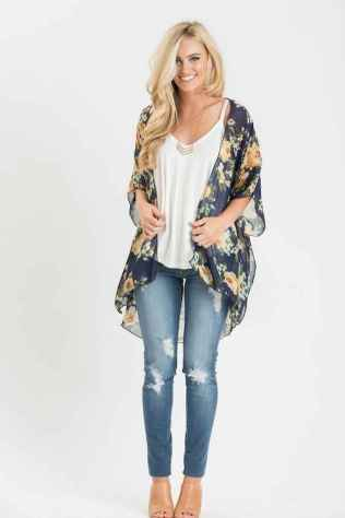25 Sweet Kimono Chic Outfit Ideas