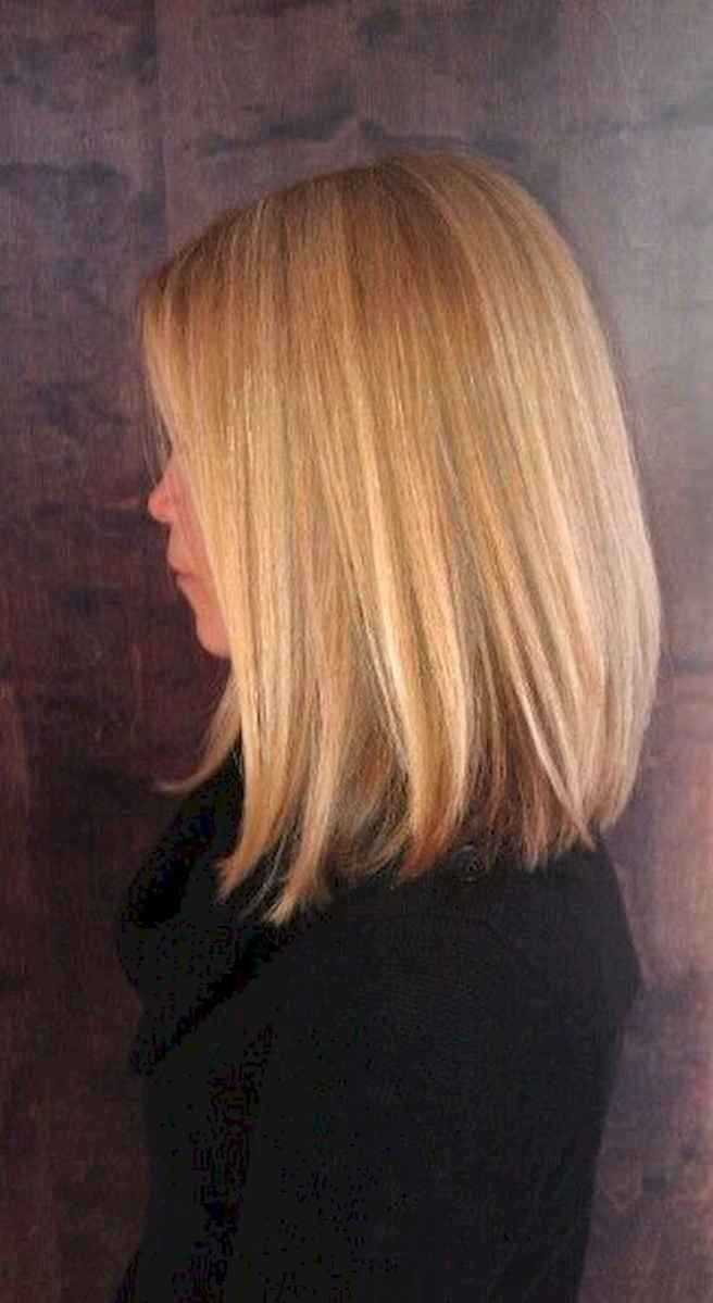 28 Stylish Lob Hairstyle For Fall and Winter