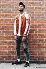 30 Men Outfit Ideas With Bomber Jacket