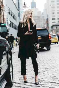 33 Chic All Black Outfit