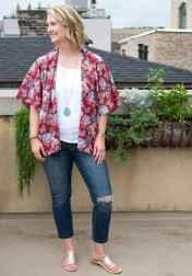 33 Sweet Kimono Chic Outfit Ideas