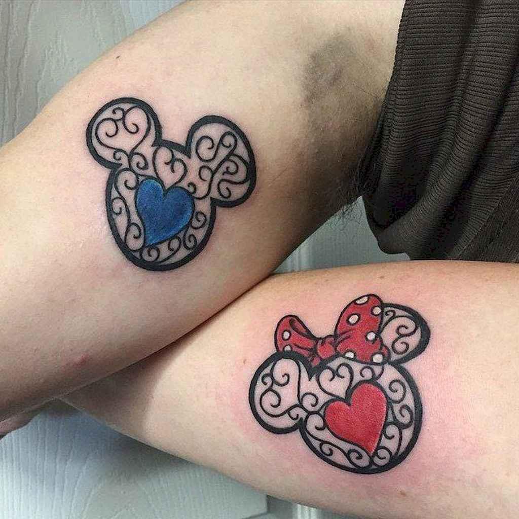 34 Creative Couple Tattoos That Celebrate Love's Eternal Bond