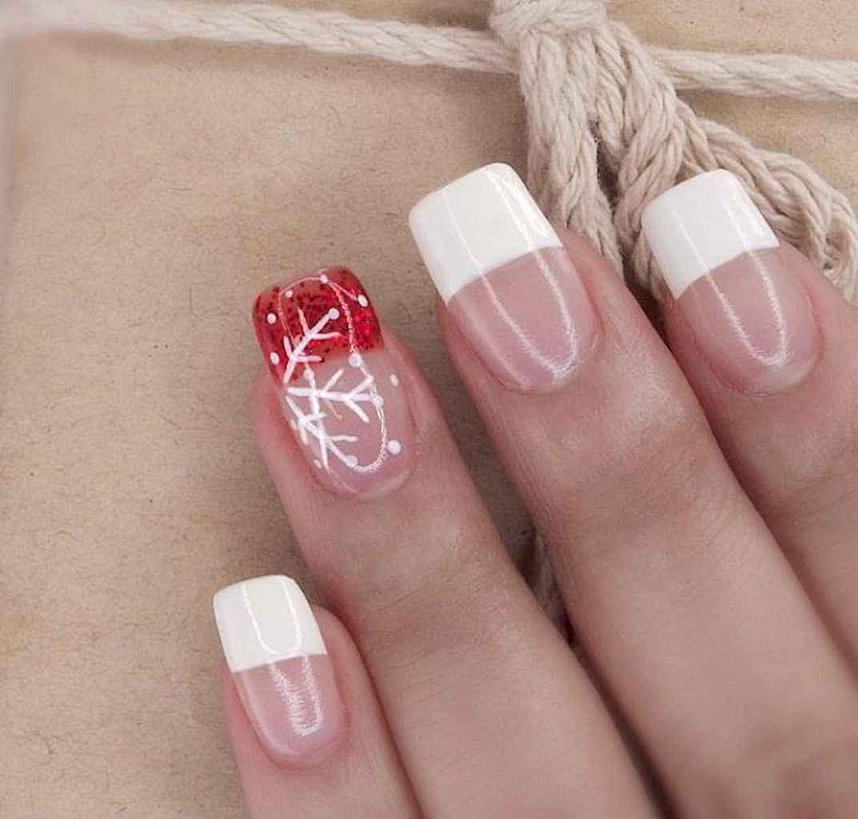 34 Easy Winter Nail Art Ideas