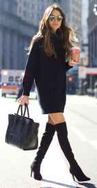 36 Chic All Black Outfit