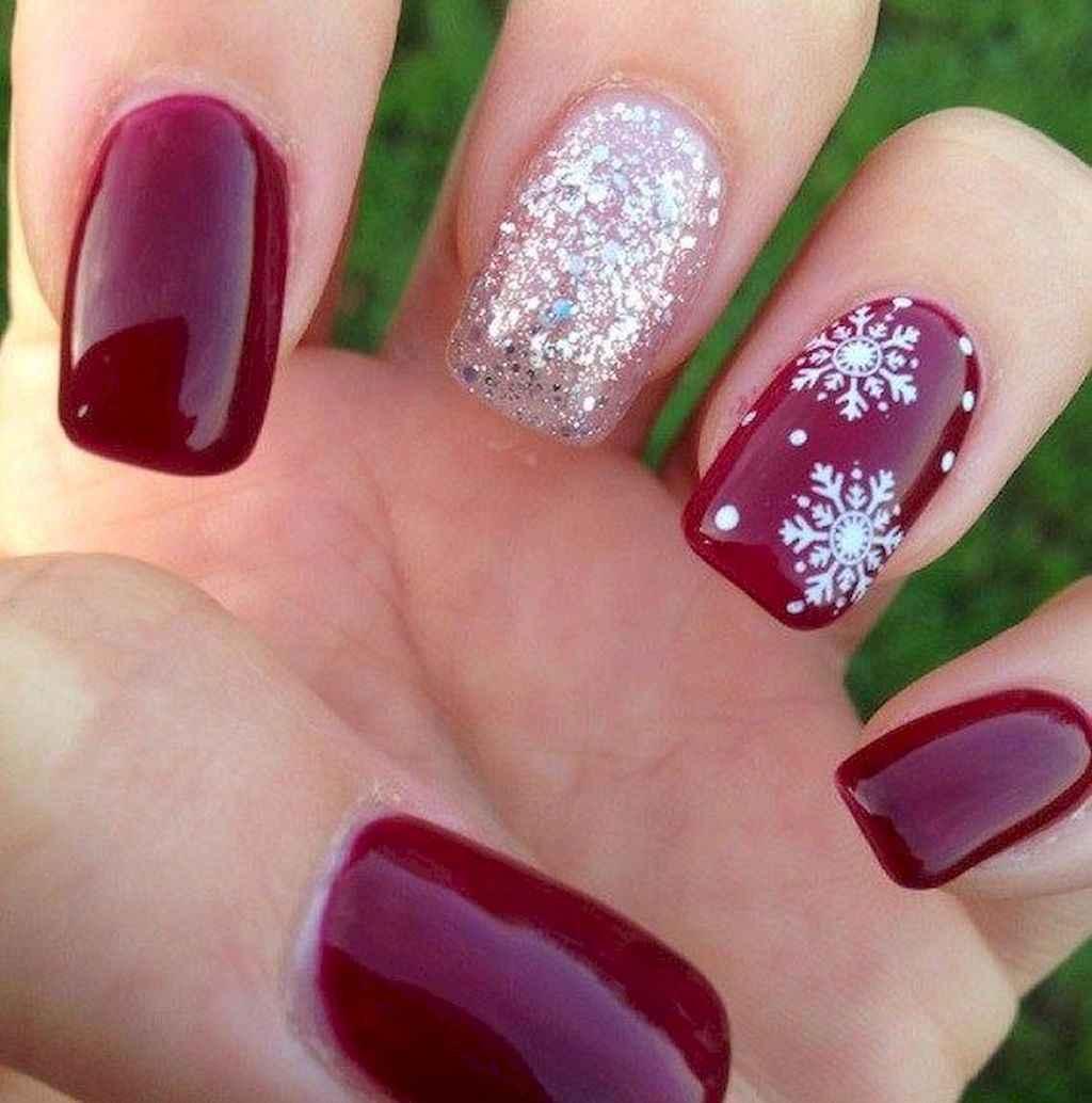 38 Easy Winter Nail Art Ideas