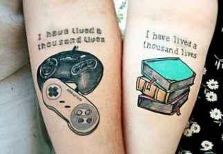 40 Creative Couple Tattoos That Celebrate Love's Eternal Bond