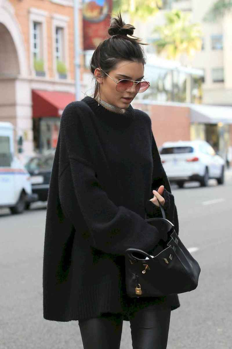 41 Chic All Black Outfit