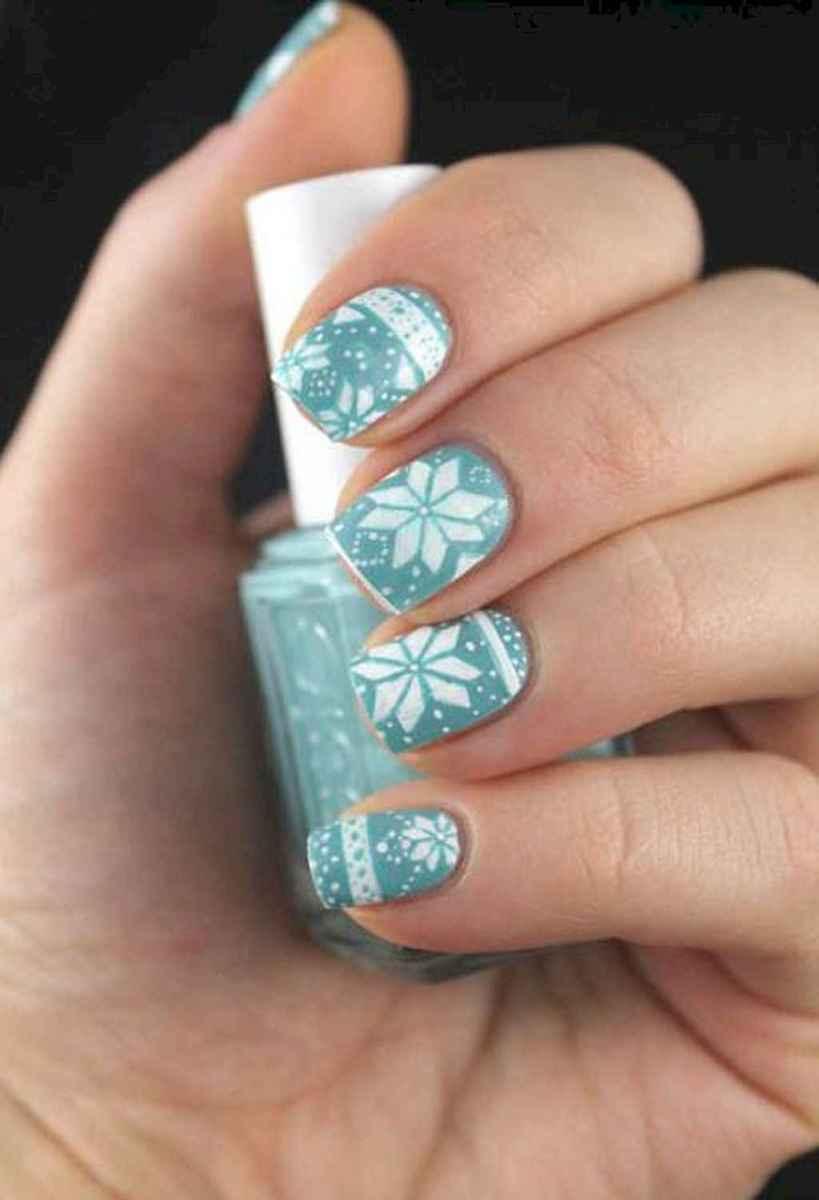 45 Easy Winter Nail Art Ideas