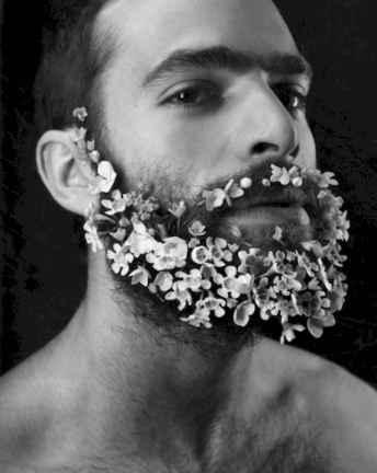 47 Most Elaborate Flower Beard Ideas