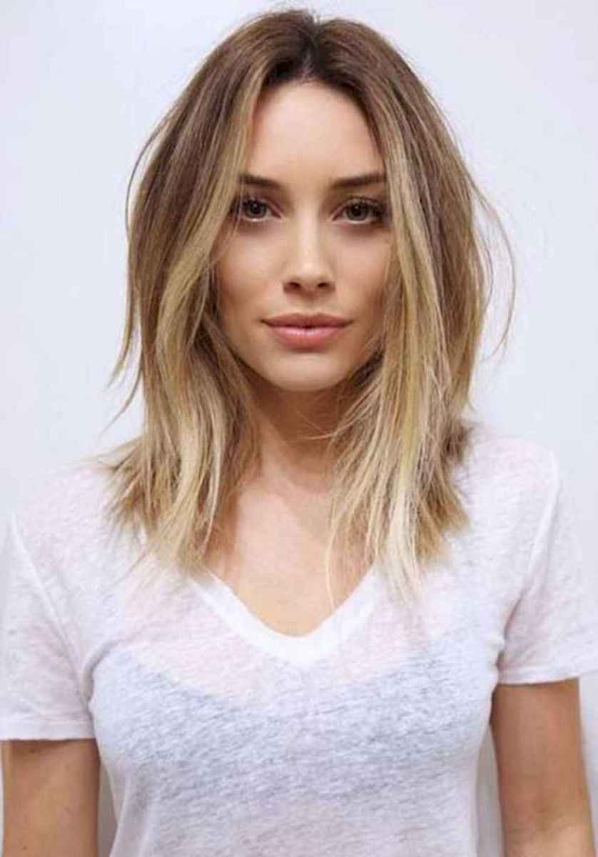 47 Stylish Lob Hairstyle For Fall and Winter