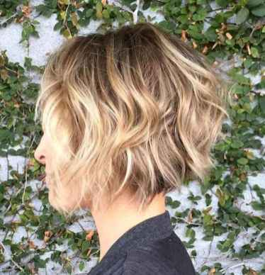 49 Messy Short Hair for Pretty Girls