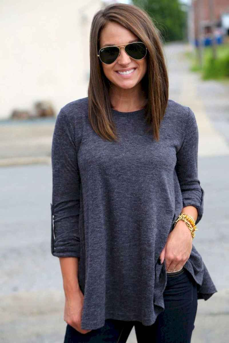 53 Stylish Lob Hairstyle For Fall and Winter