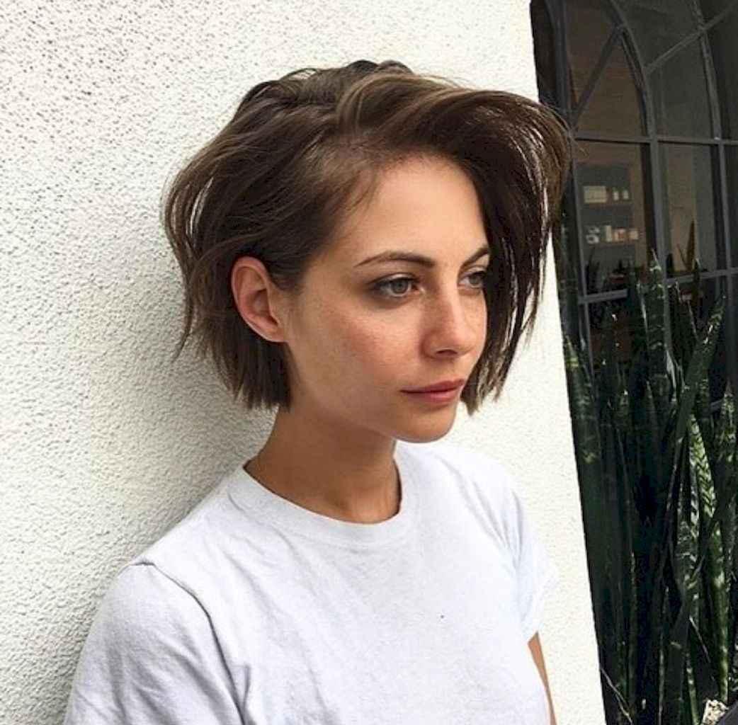 54 Messy Short Hair for Pretty Girls