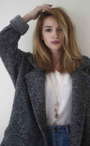 57 Stylish Lob Hairstyle For Fall and Winter