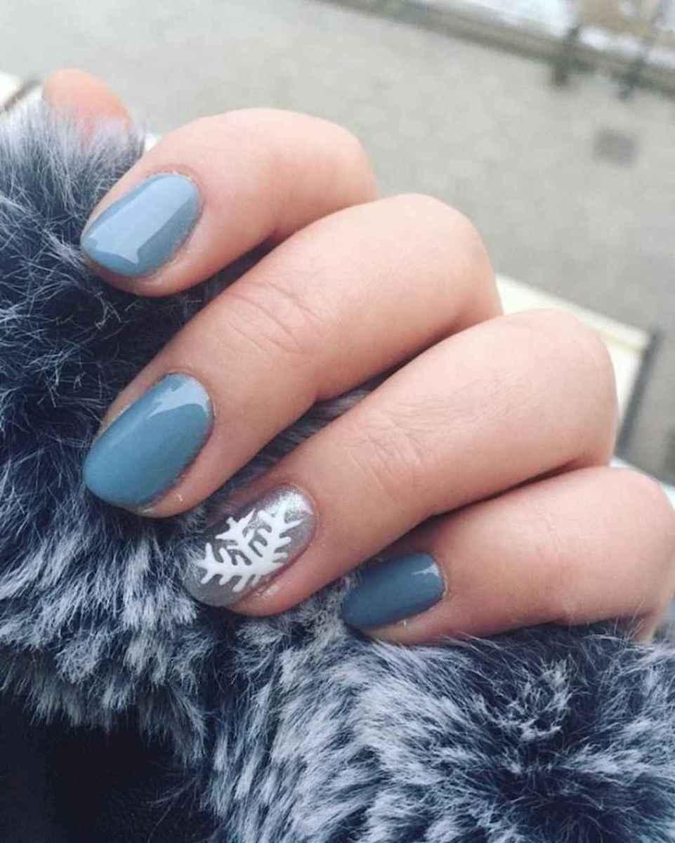 72 Easy Winter Nail Art Ideas