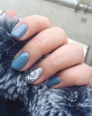 72 Easy Winter Nail Art Ideas