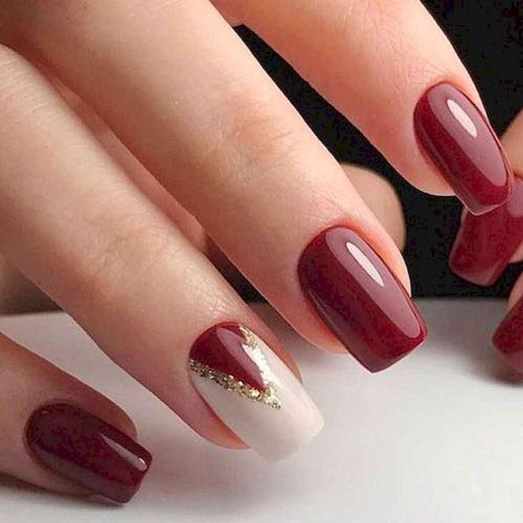76 Easy Winter Nail Art Ideas