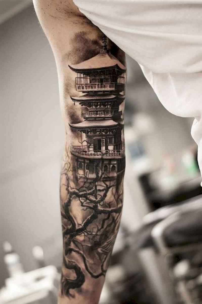 03 Amazing Sleeve Tattoos Ideas for Guys that Look Masculine