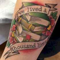 03 Awesome Book Tattoo Designs Ideas For Bookworms