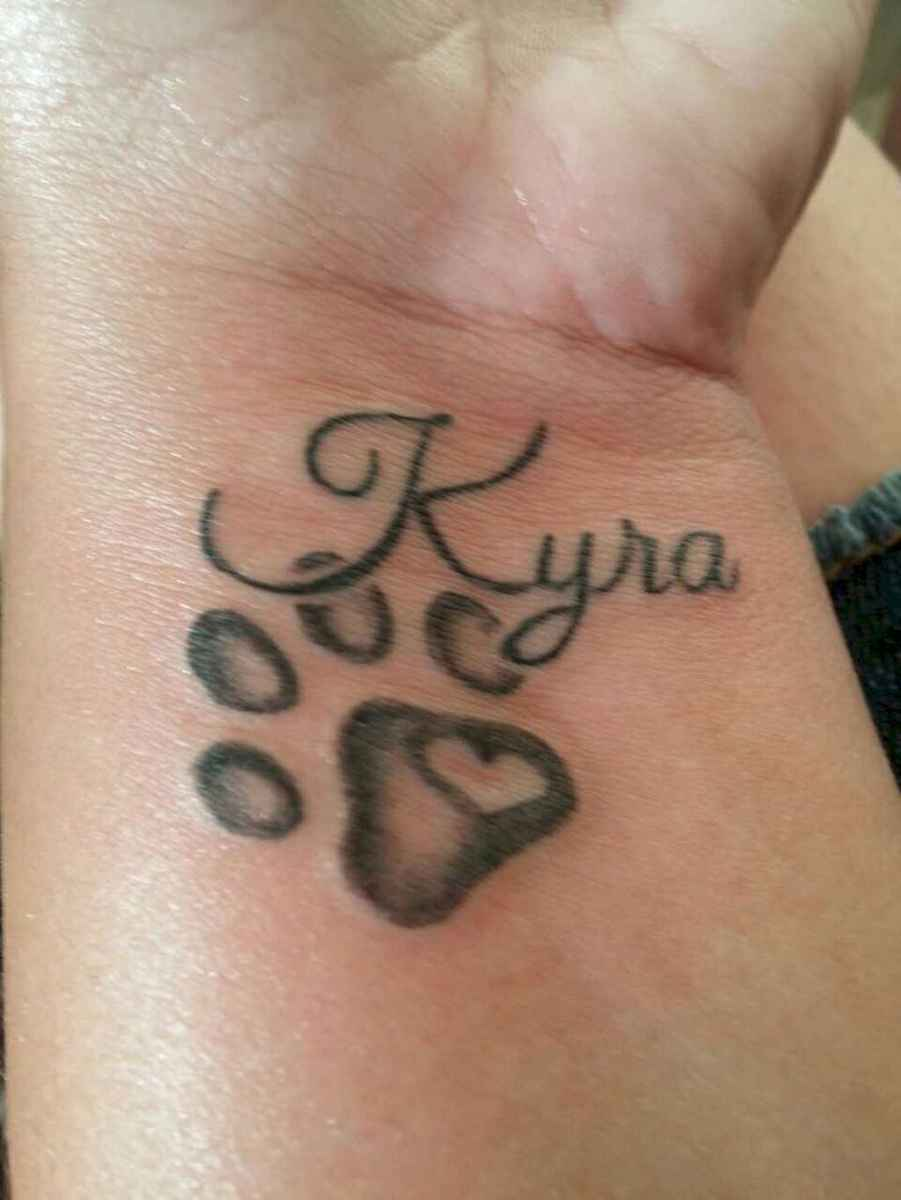06 Cute Paw Print Tattoo Designs Ideas You Must Love