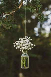 06 Rustic Wedding Suspended Flowers Decor Ideas