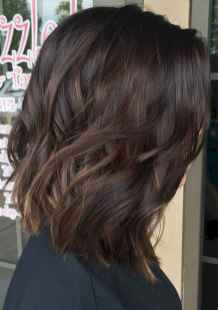 06 Unique Dark Brown Hair Color with Highlights Ideas
