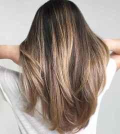 07 Beautiful Brunette Balayage Hair Color Ideas