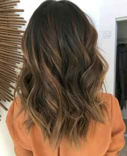 07 Unique Dark Brown Hair Color with Highlights Ideas