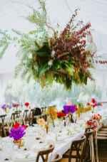 10 Rustic Wedding Suspended Flowers Decor Ideas