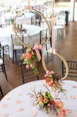 11 Rustic Wedding Suspended Flowers Decor Ideas