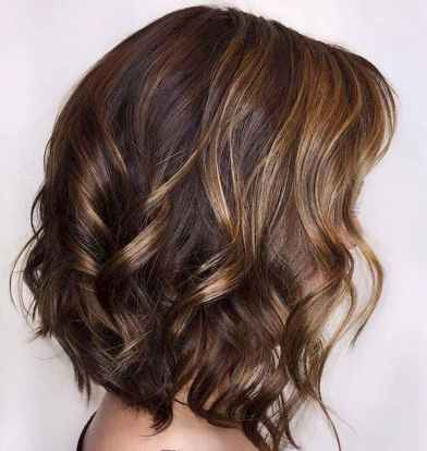 12 Unique Dark Brown Hair Color with Highlights Ideas