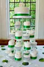 14 Green Wedding Cake Inspiration with Classy Design