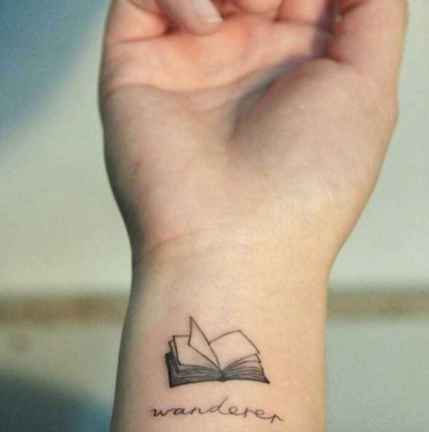 15 Awesome Book Tattoo Designs Ideas For Bookworms