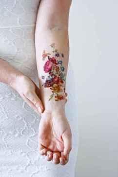 15 Most Beautiful Watercolor Tattoos Art Ideas