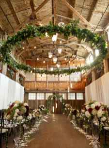 18 Rustic Wedding Suspended Flowers Decor Ideas