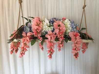 19 Rustic Wedding Suspended Flowers Decor Ideas