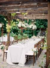22 Rustic Wedding Suspended Flowers Decor Ideas